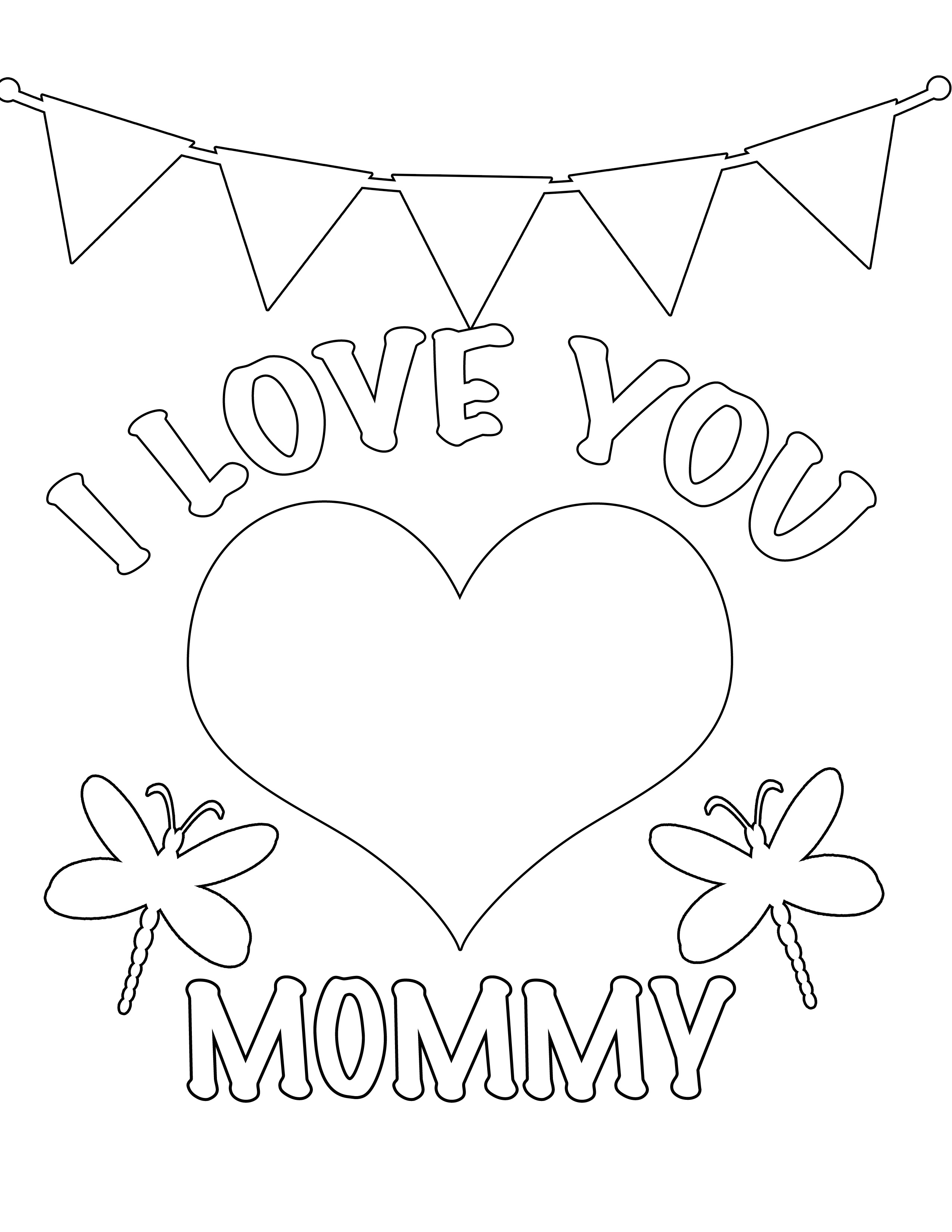 Free Coloring Pages for Kids to Print Preschool