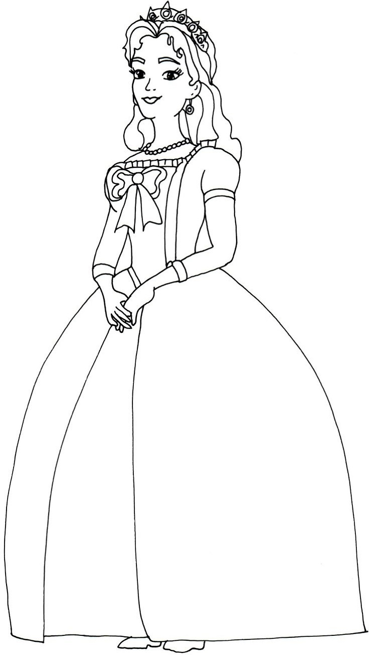 Free Printable Coloring Pages for Toddlers Queen