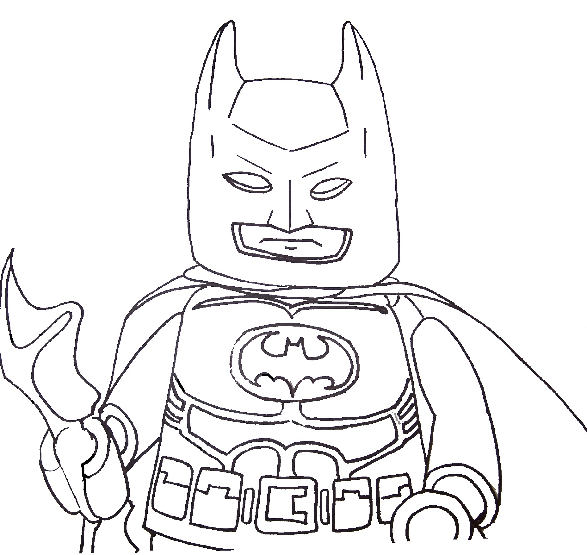 Fun Coloring Pages for Boys
