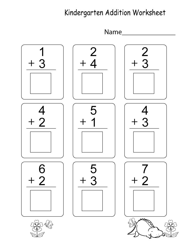 Kindergarten Learning Worksheets to Print | Learning Printable