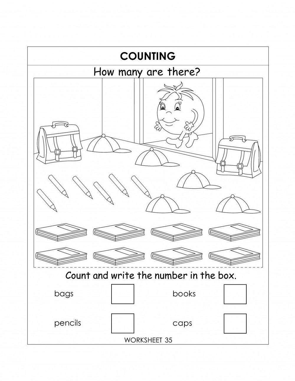 Ukg Worksheets Kindergarten