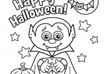 coloring pages for kids halloween