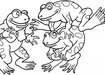 Childrens Printable Coloring Pages Frog