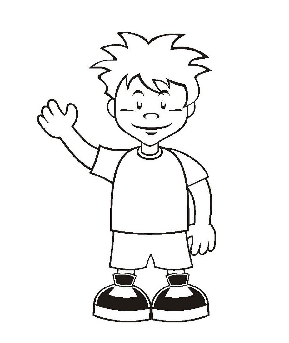 Coloring Sheets for Boys Cartoon