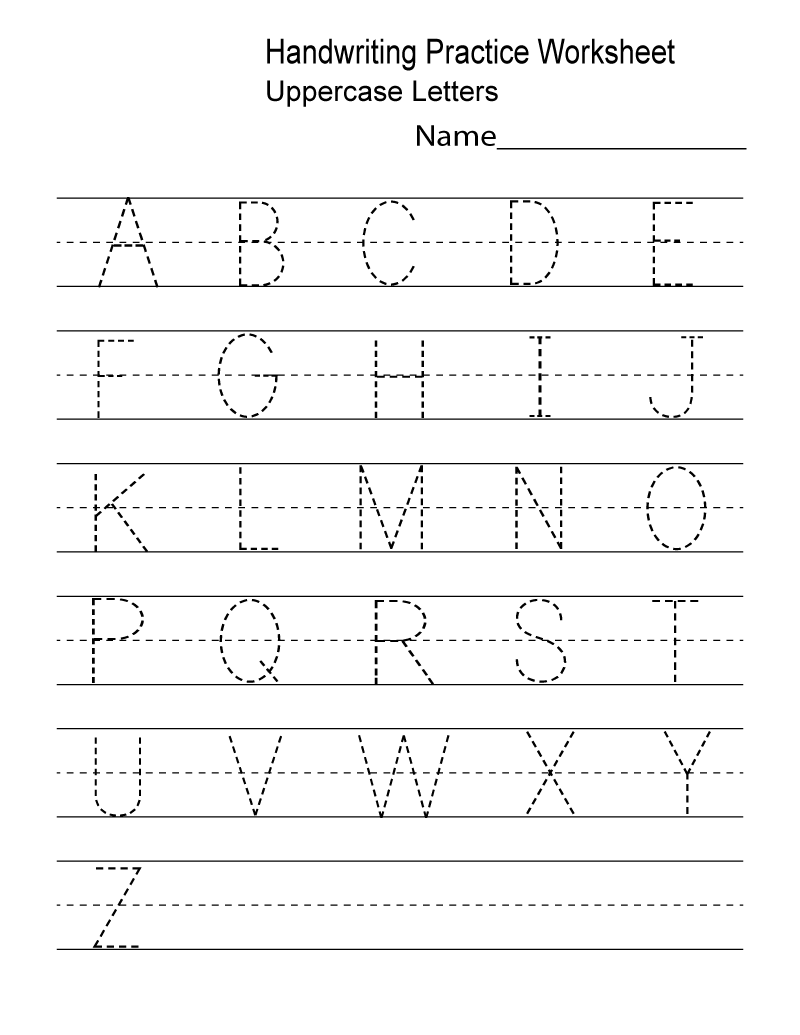 Kindergarten Worksheets Pdf Free Download Handwriting