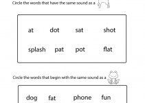 Kindergarten Worksheets Pdf Free Download Phonics