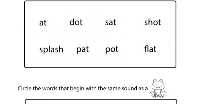 Kindergarten Worksheets Pdf Free Download Phonics