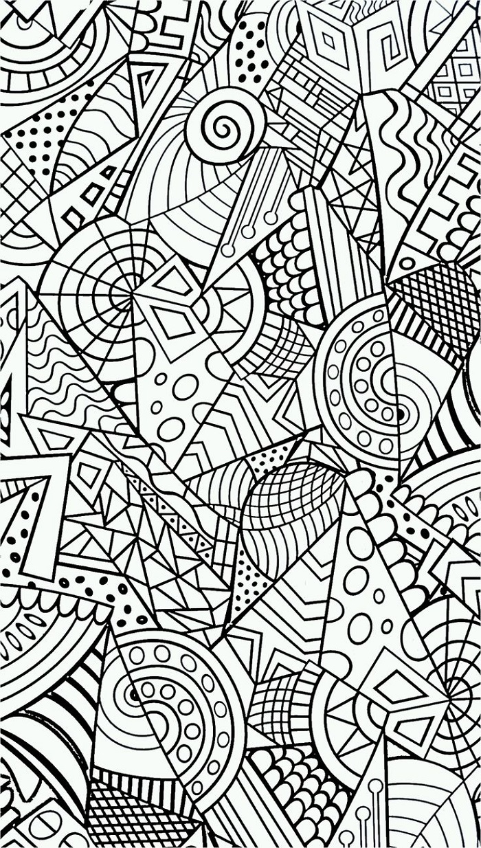 Stress Coloring Book