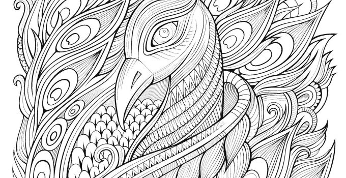 Stress Coloring Page