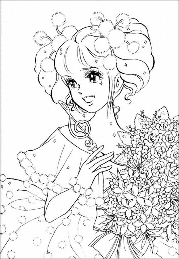 Coloring Book Pages for Girl
