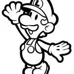 Free Coloring Sheets to Print Mario