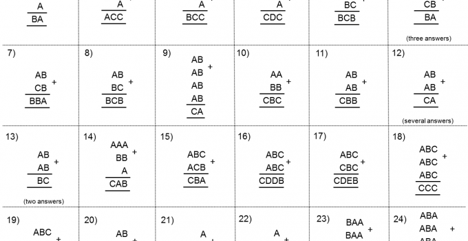 Ks2 Maths Worksheets Addition