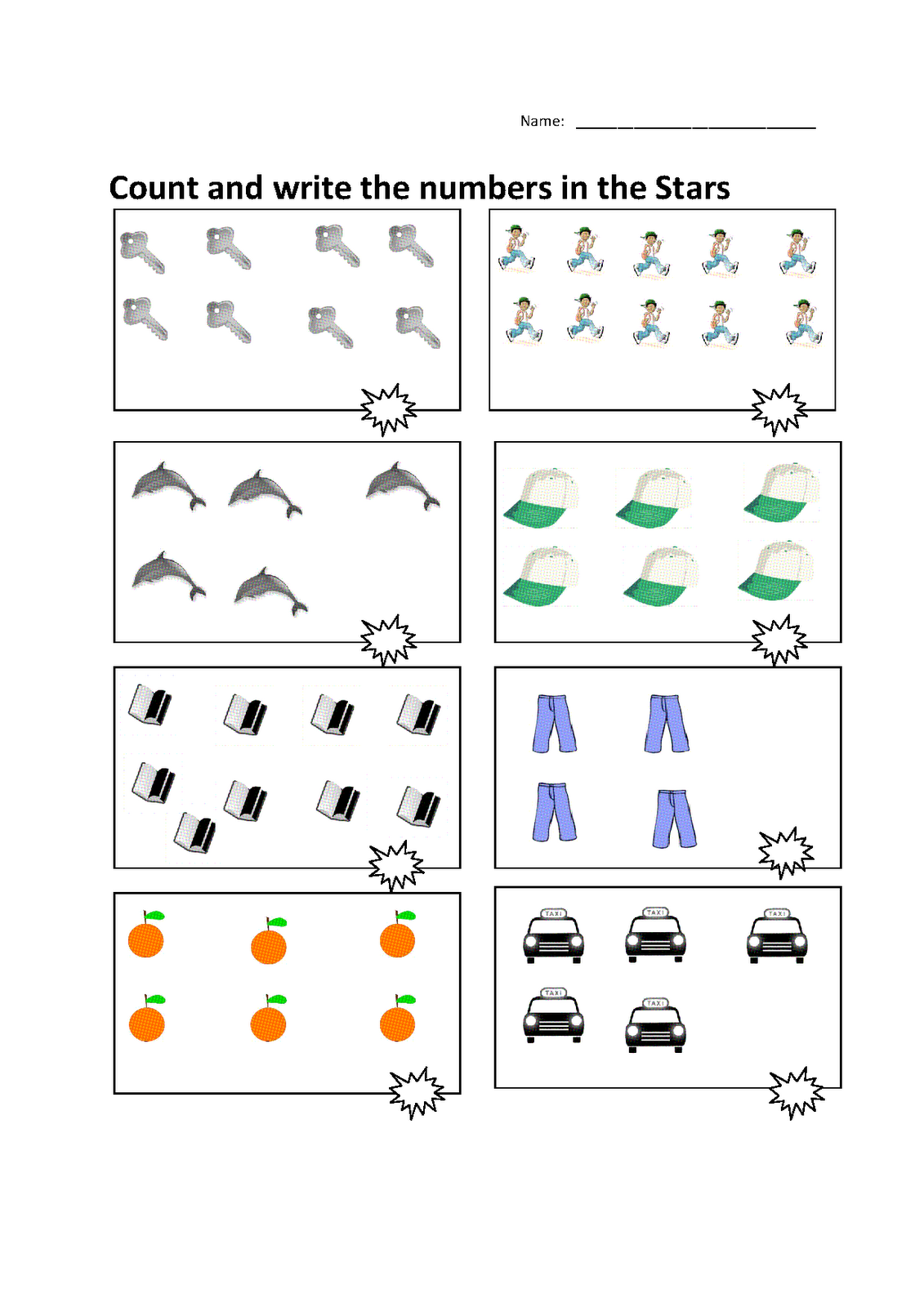 Math Papers to Print Counting