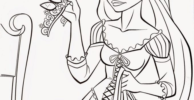 Coloring Worksheets for Kids Disney