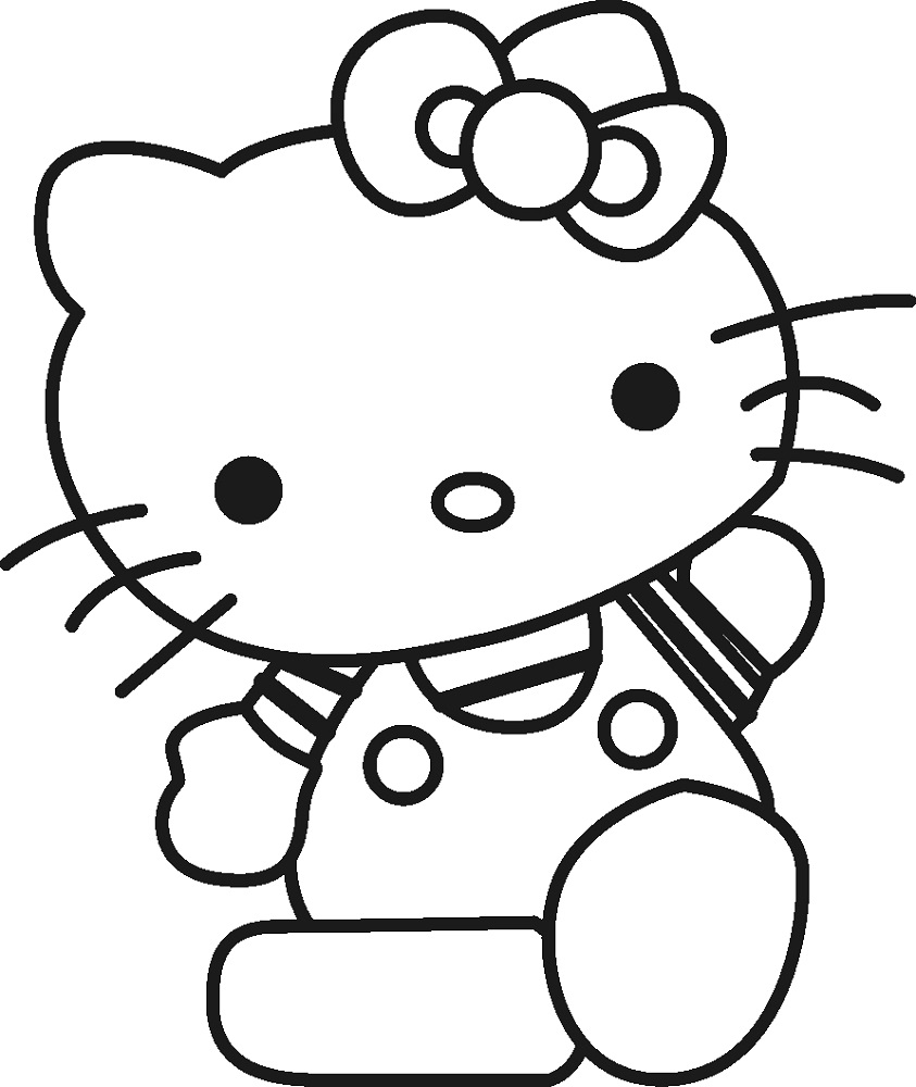 Free Coloring Book Pages for Kids Cartoon
