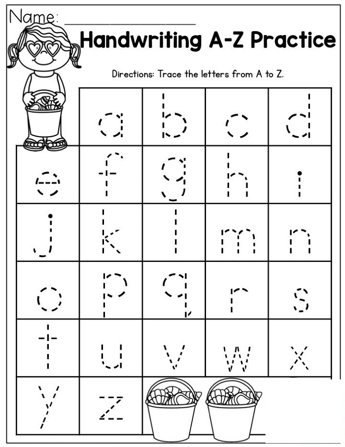 Prep Worksheets Handwriting