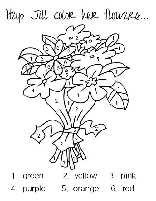 Toddler Activity Pages Printable