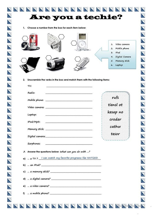 Free Handouts Technological
