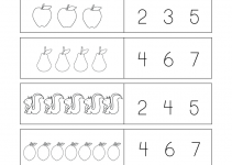 Free Printable Worksheets for Kids Number