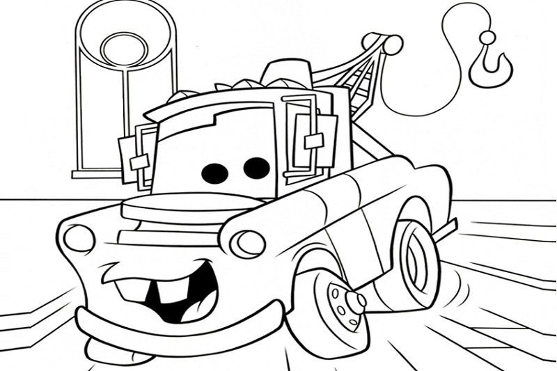 Online Coloring Games for Kids Cars