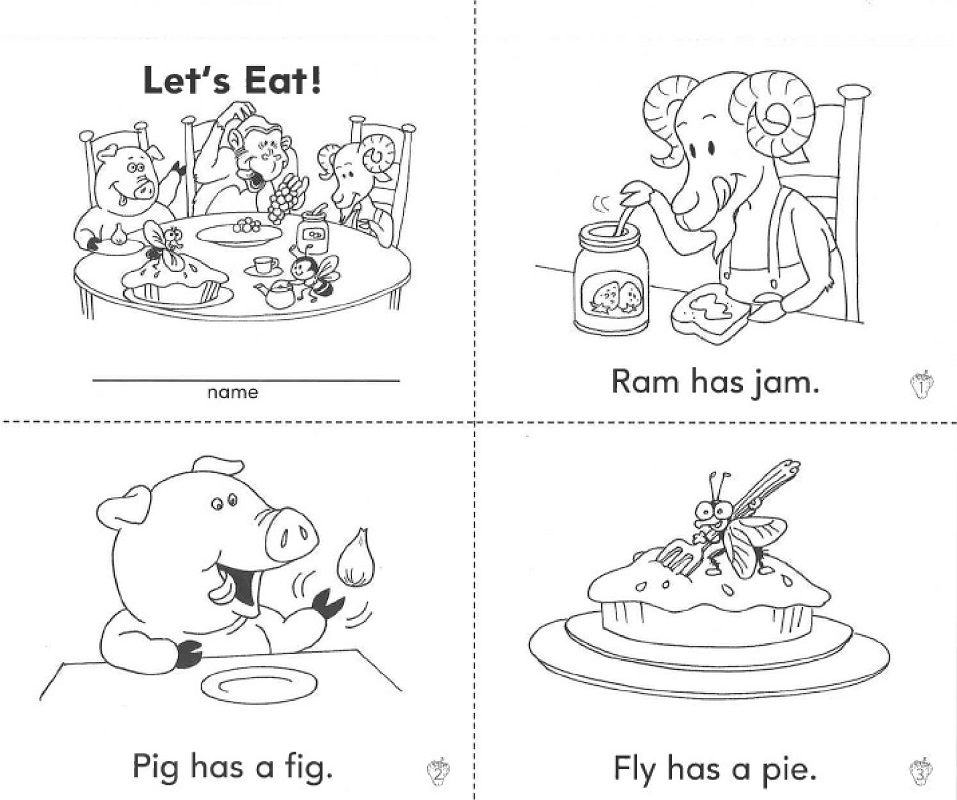 Printable Preschool Books Free