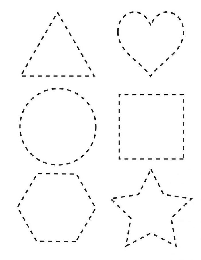 Toddler Printables Shape