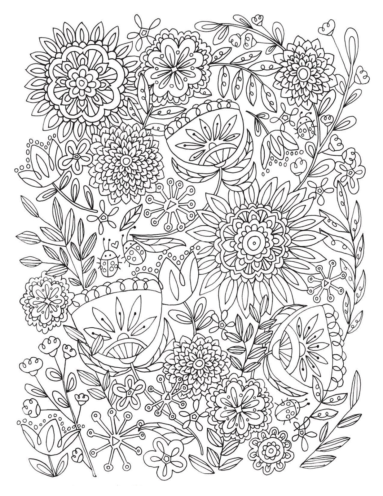 Coloring Activities for Adults