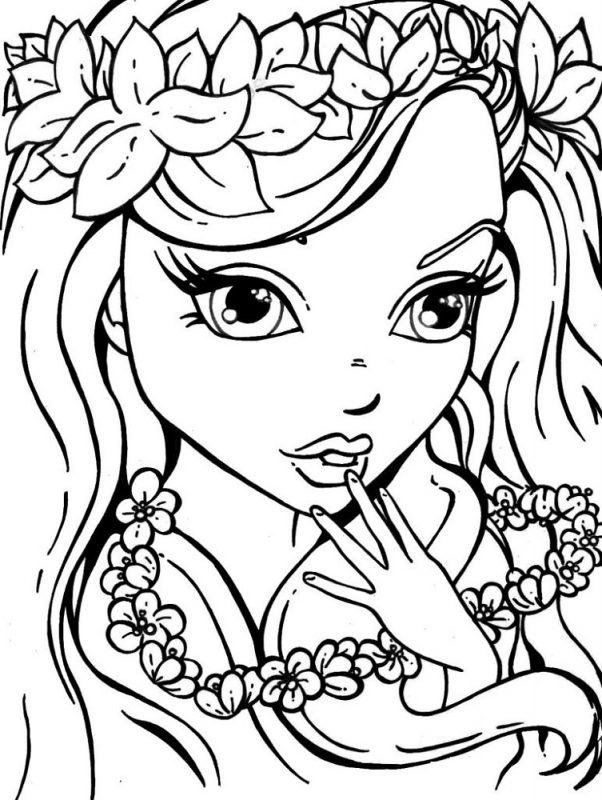 Coloring Activities for Girls