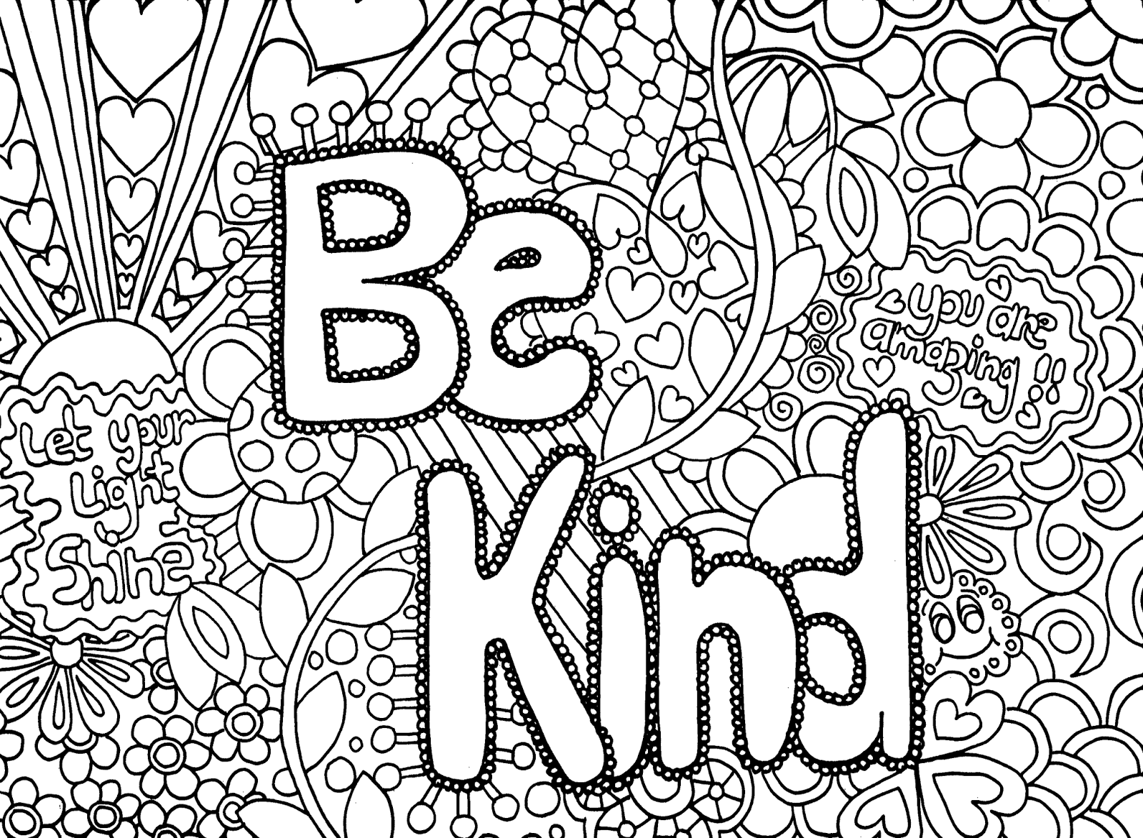 Coloring Activities for Teens