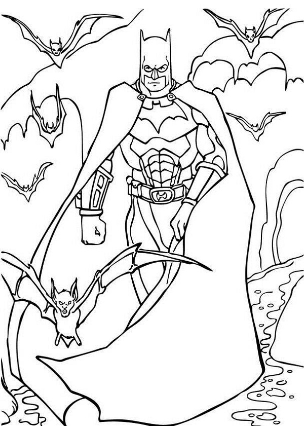 Drawing Coloring Pages Boys