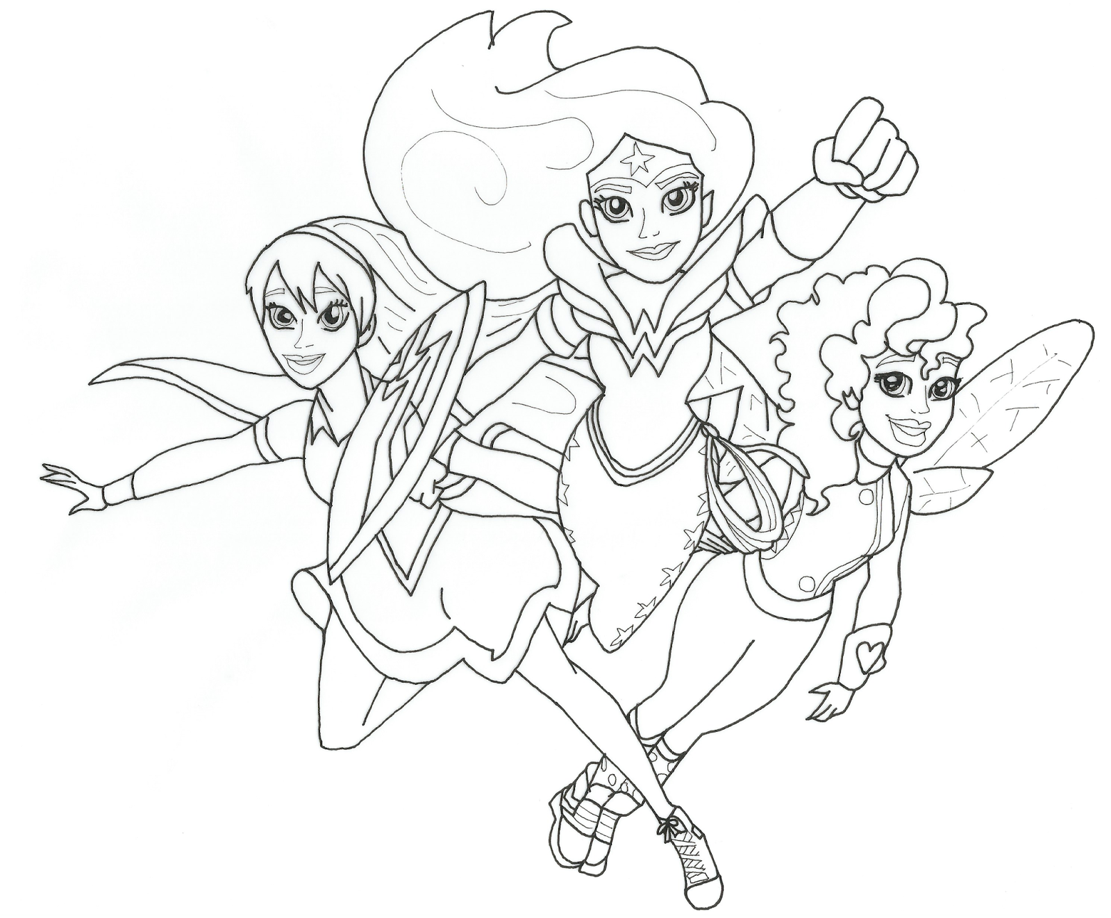Free Coloring Pages for Kids Hero