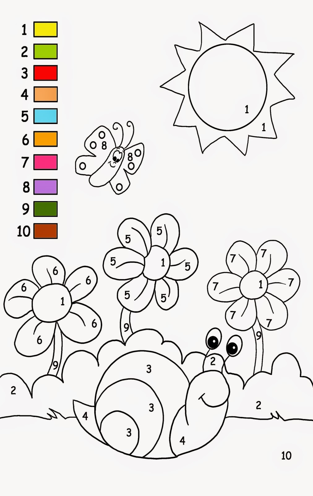 Free Printable Activities for Kids Colour