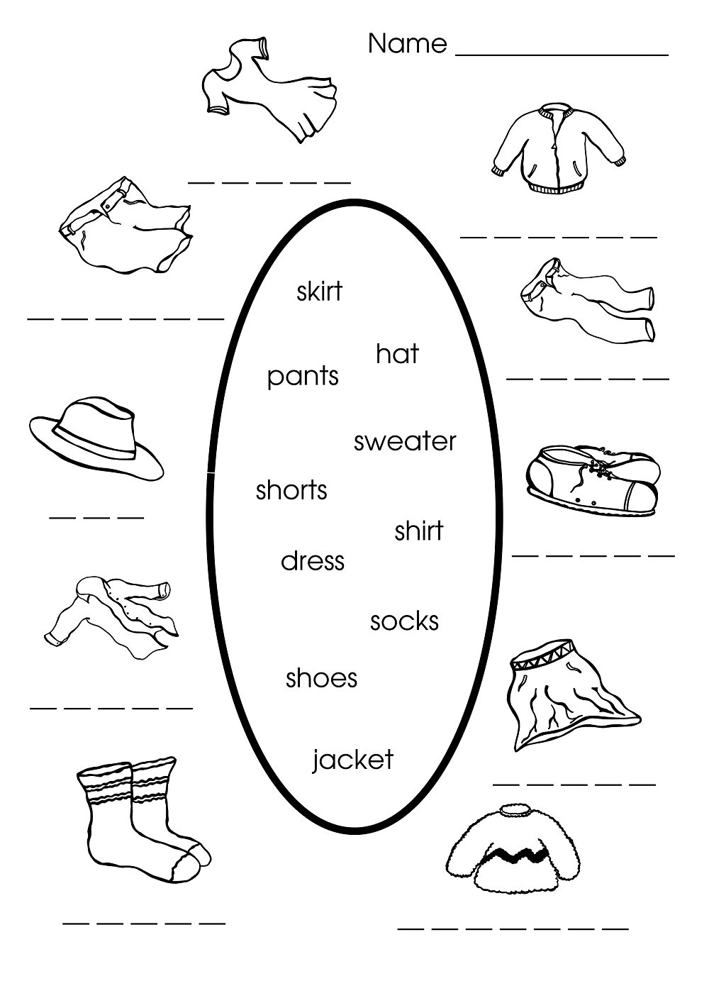 Free Printable Worksheets Kids