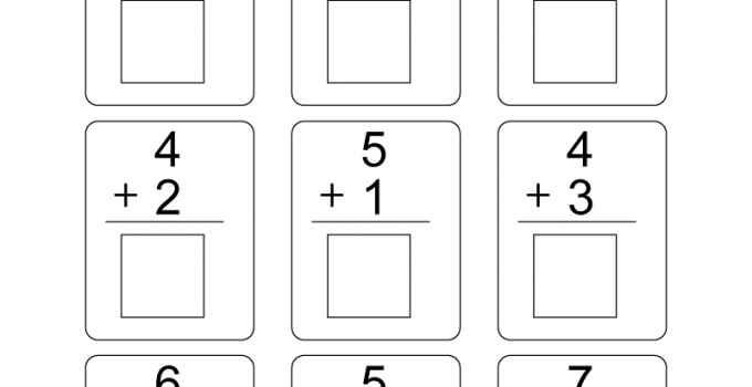 Free Printable Worksheets Kindergarten