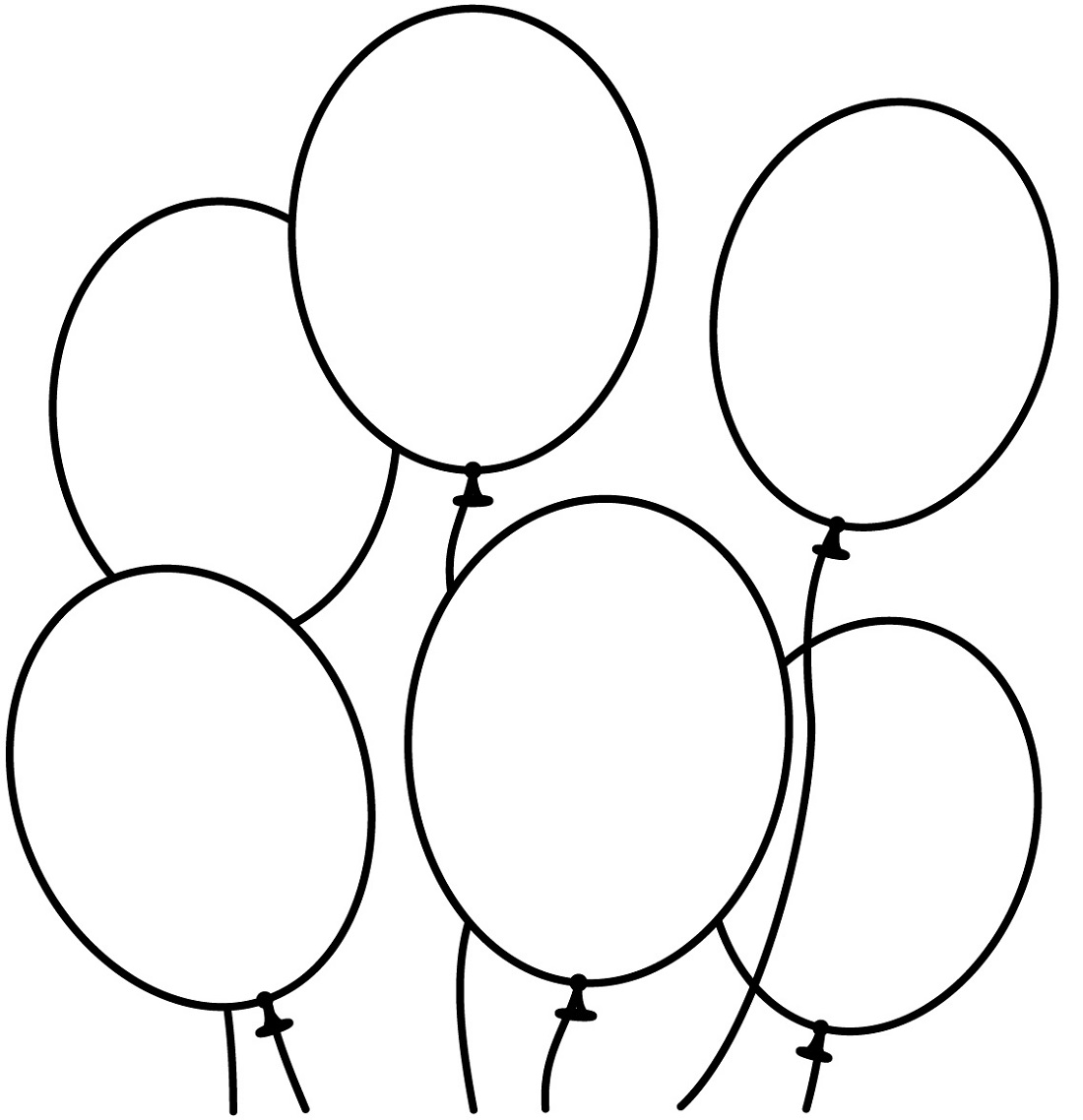 Free Printable for Kids Balloon