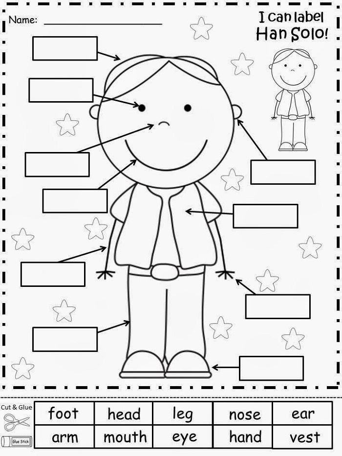 Worksheets for Children Cutting