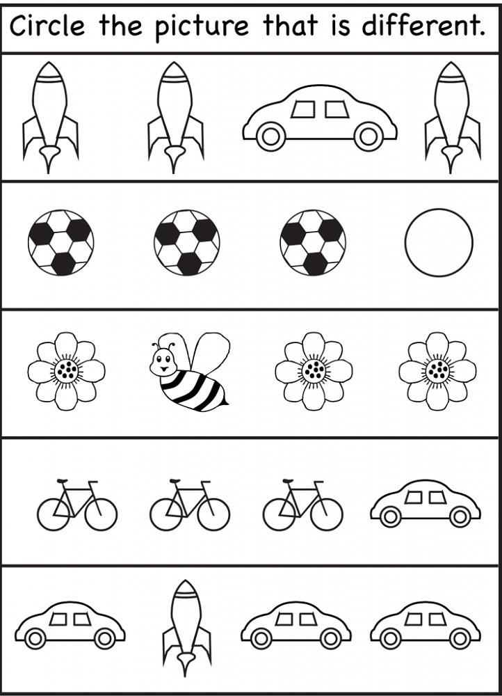 Worksheets for Children Printable
