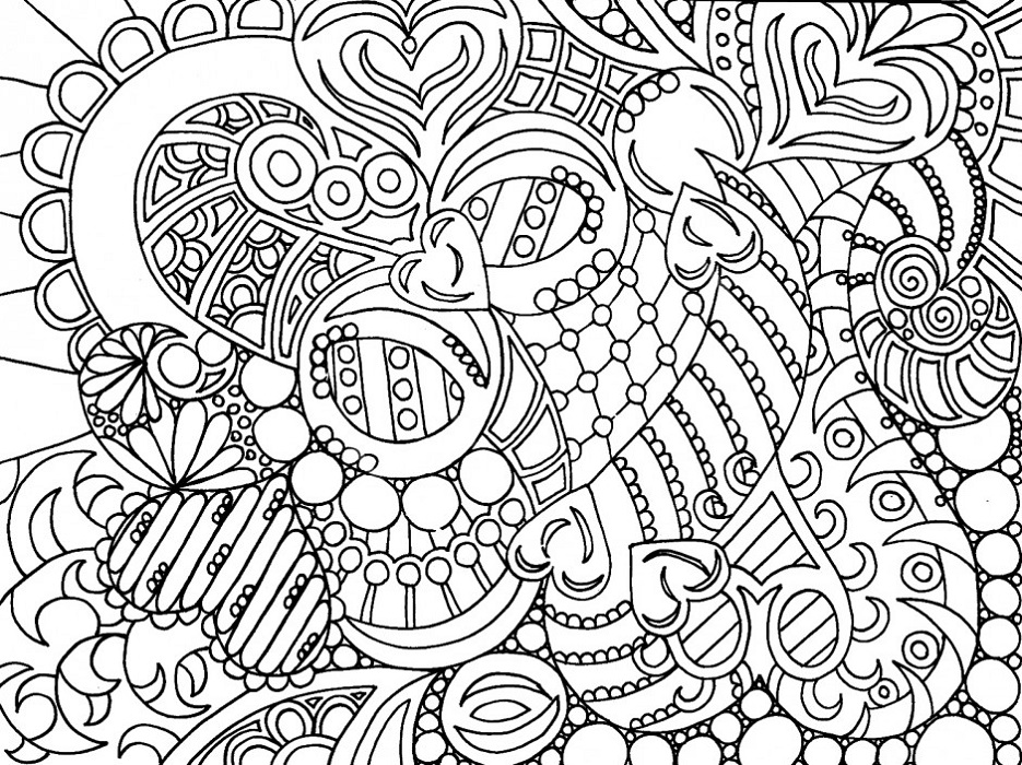 Coloring Pages to Color Online Adult