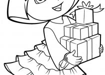 Free Coloring Pages to Print Out Dora