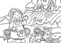 Garden Coloring Pictures