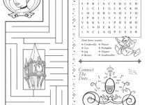 Printable Activity Sheets Cinderella