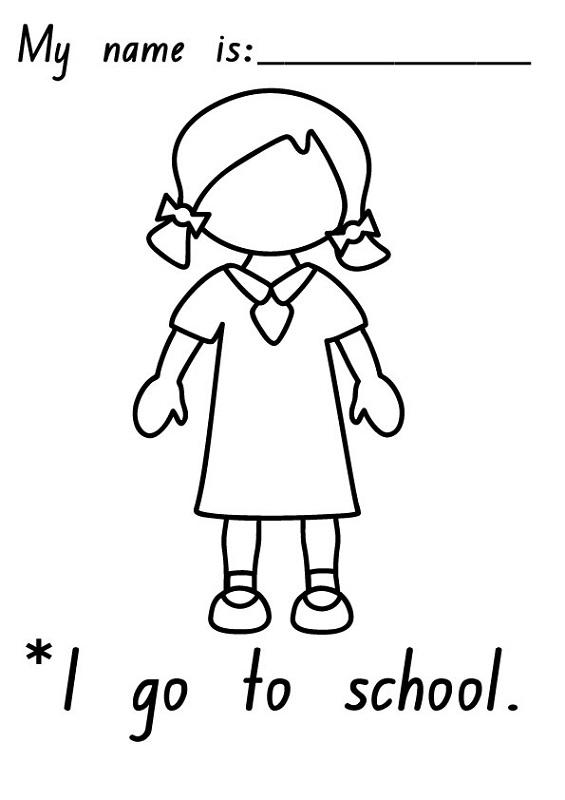 School Worksheets for Girl