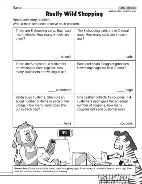 Printable worksheets for 4th grade