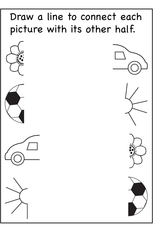 Printable worksheets for preschoolers