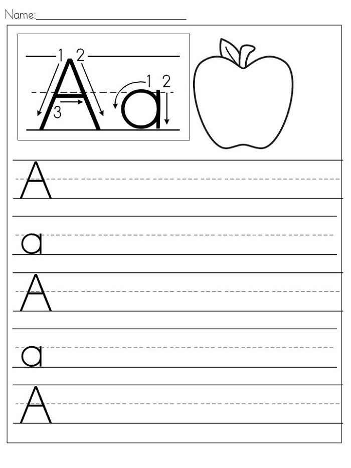 Worksheet Download Alphabet