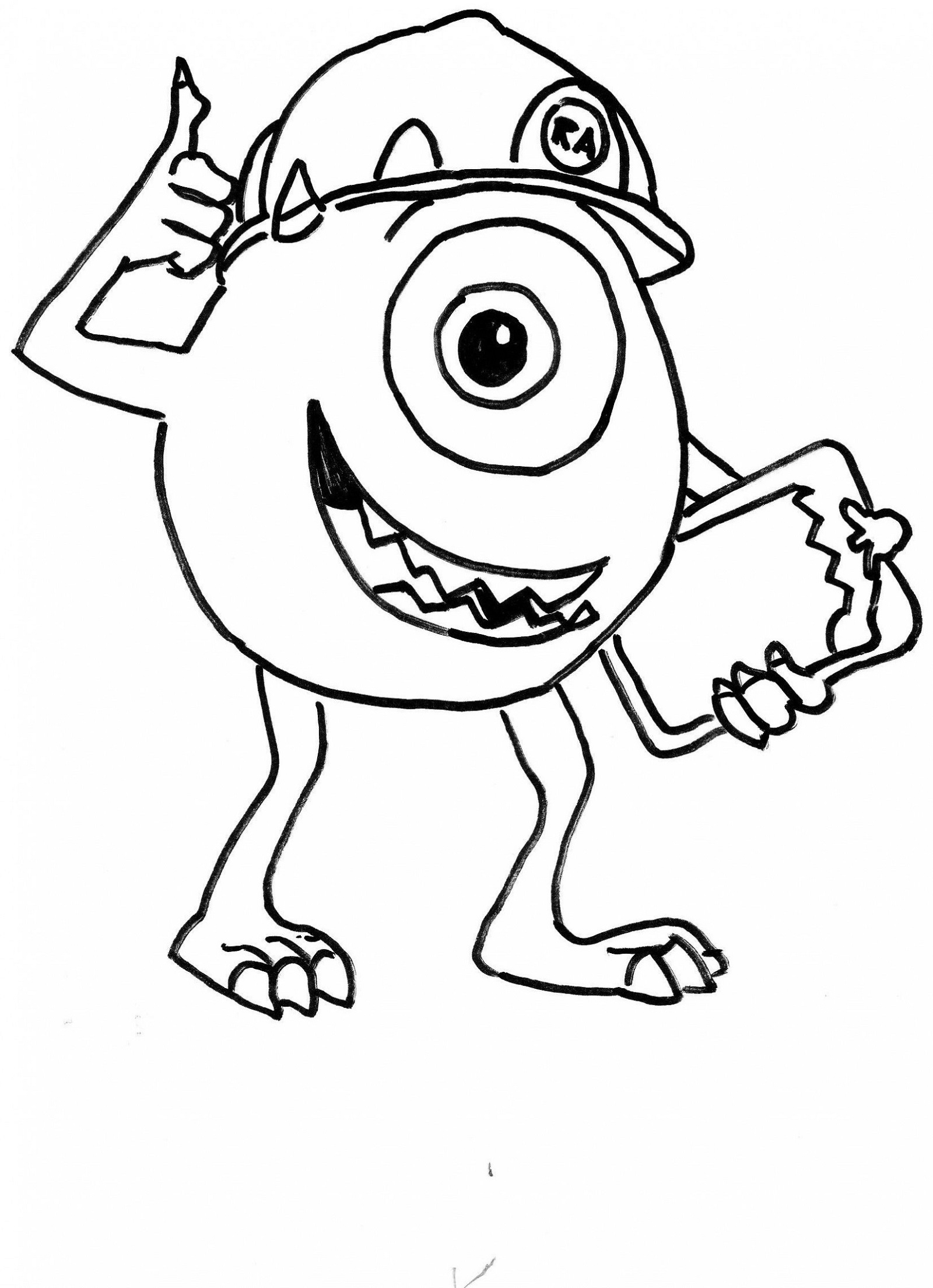 Free Coloring Pictures Cartoon