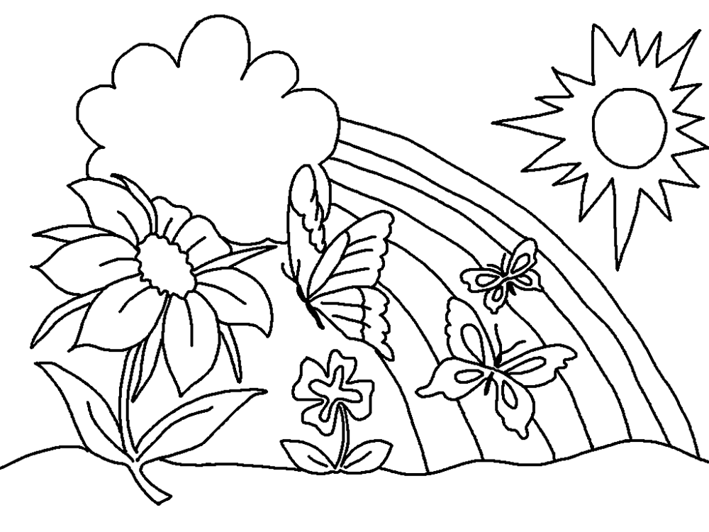 Free Coloring Sheets for Preschoolers