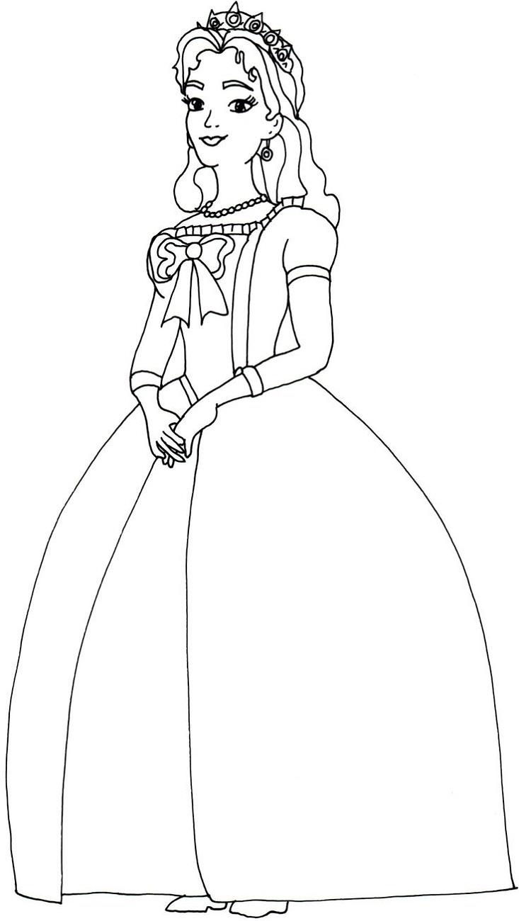 Online Coloring for Kids Queen