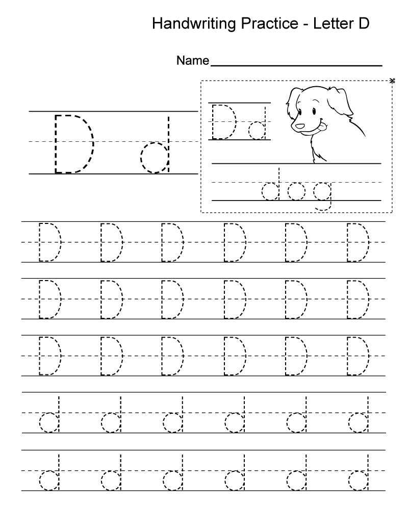 Practice Worksheet Letter