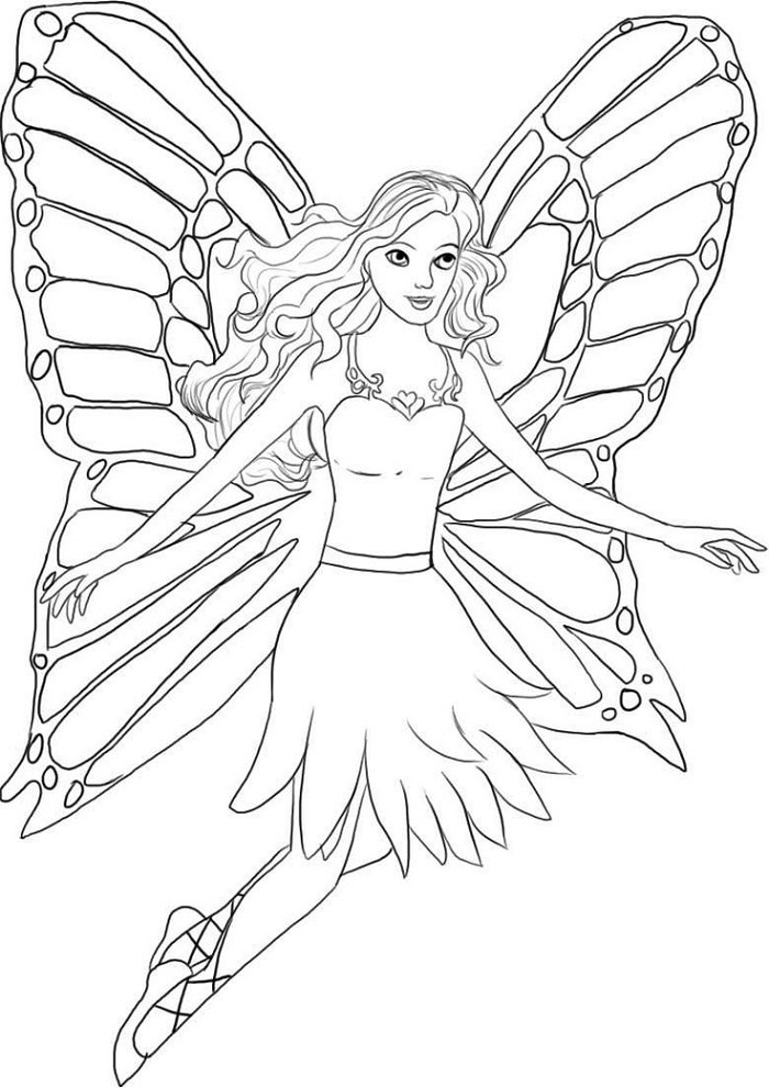 Print Out for Kids Angel